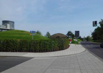 Ausfahrt Kundencenter, Autostadt Wolfsburg