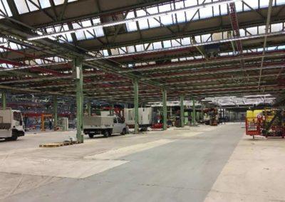 Rückbau MAN LKW–Halle 4, Salzgitter